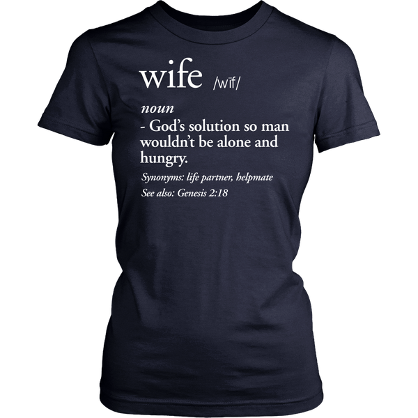 Wife Definition Tee