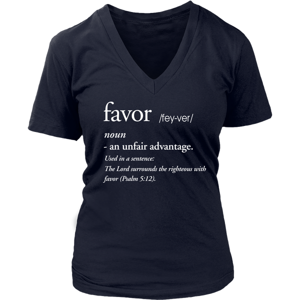 Favor Definition Tee - Dressed Up Tee Shop  - 4