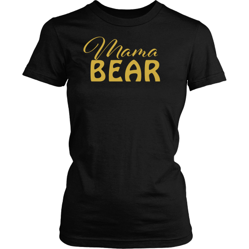 Mama Bear Tee - Dressed Up Tee Shop  - 1