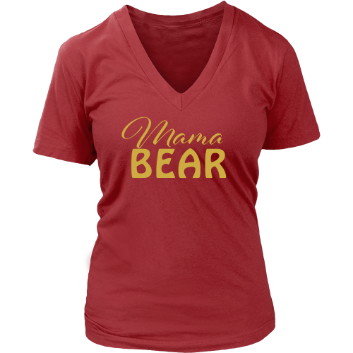 Mama Bear Tee - Dressed Up Tee Shop  - 5