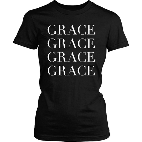 Grace Upon Grace Tee - Dressed Up Tee Shop  - 2
