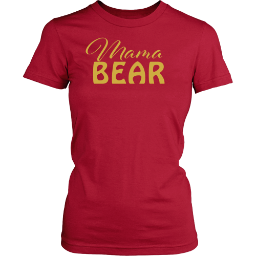 Mama Bear Tee - Dressed Up Tee Shop  - 4
