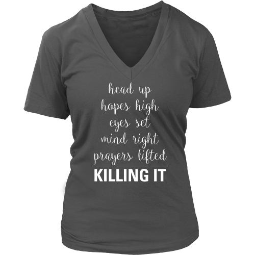 Killing It (Hopes High) V-Neck - Dressed Up Tee Shop  - 1