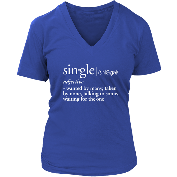 Single Definition V-Neck
