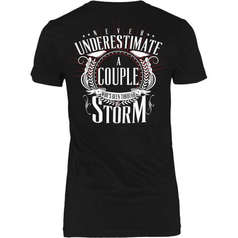 Built to Last Couples Tee - Dressed Up Tee Shop  - 1
