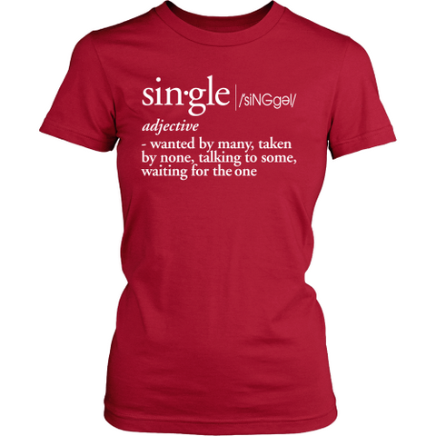 Single Definition Tee - Dressed Up Tee Shop  - 1