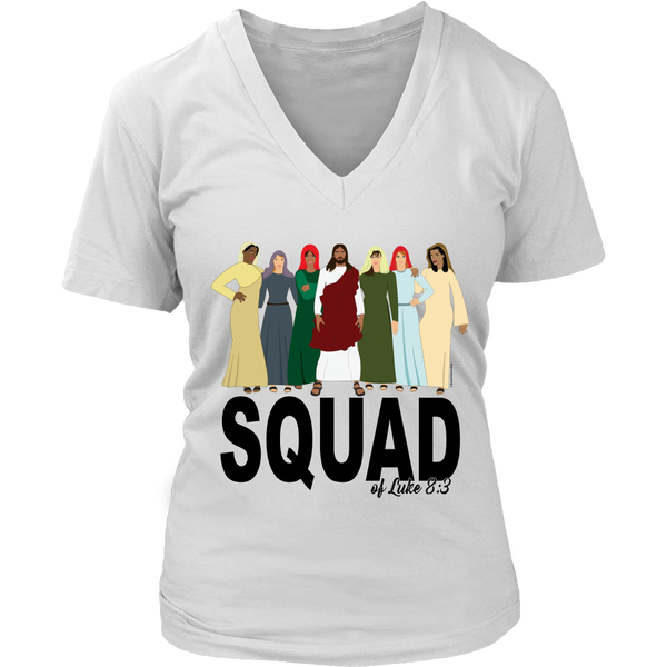 Squad of Luke 8:3 Tee