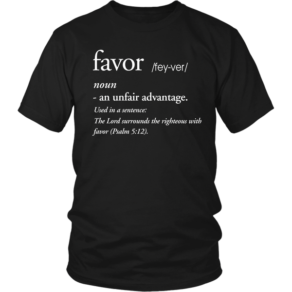 Favor Definition Tee - Dressed Up Tee Shop  - 5