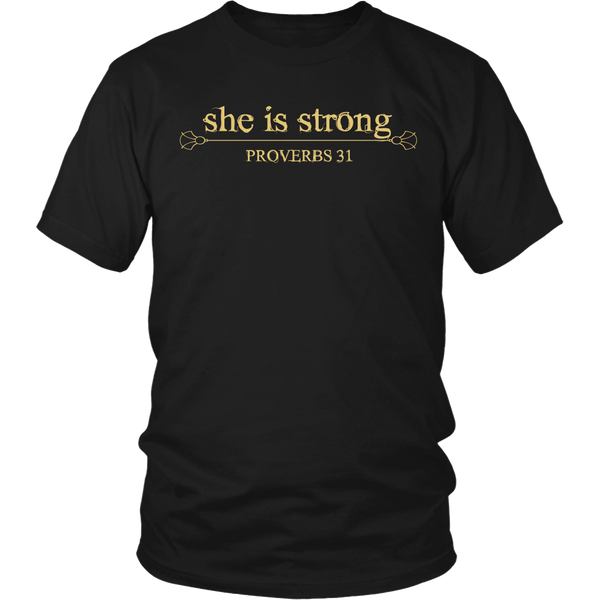 She is Strong Tee - Dressed Up Tee Shop  - 10