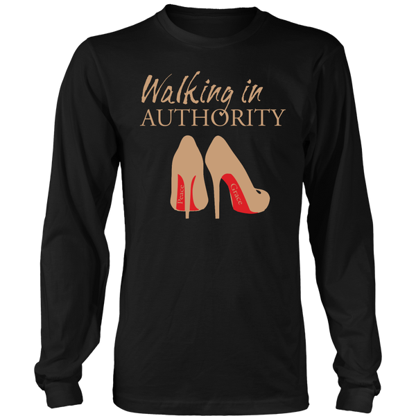 Walking in Authority Hoodie & Long Sleeve - Dressed Up Tee Shop  - 5