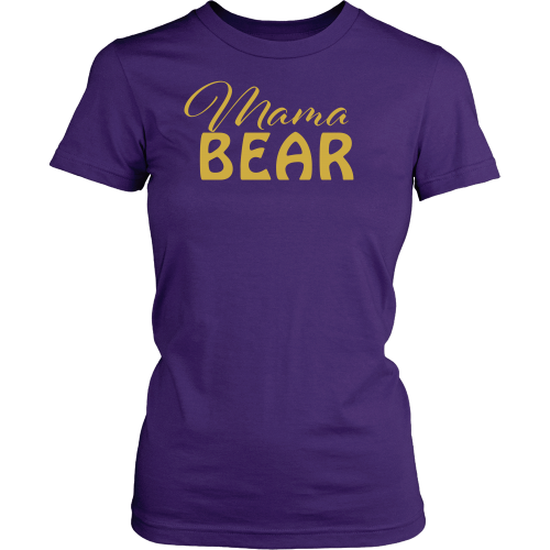 Mama Bear Tee - Dressed Up Tee Shop  - 2