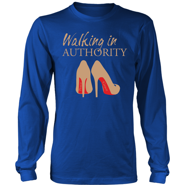 Walking in Authority Hoodie & Long Sleeve - Dressed Up Tee Shop  - 4
