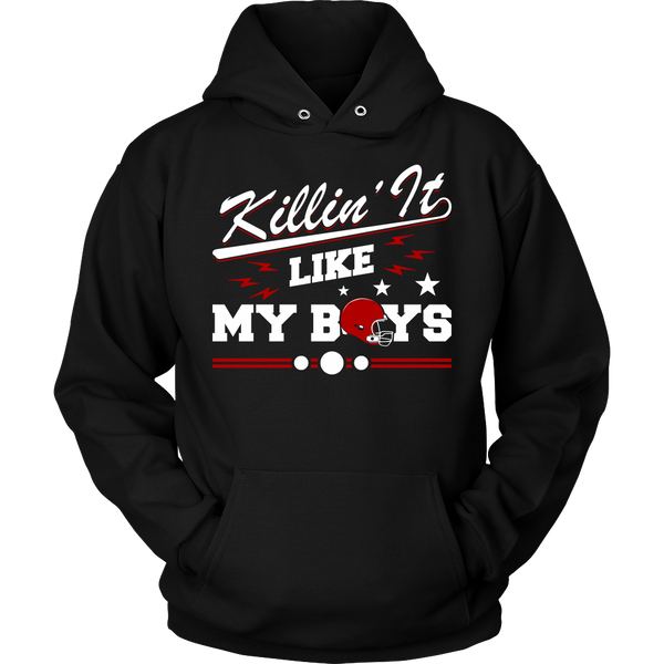 Killin It Like My Boys Sweatshirt & Hoodie