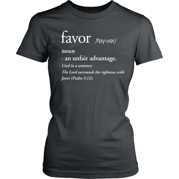Favor Definition Tee - Dressed Up Tee Shop  - 2