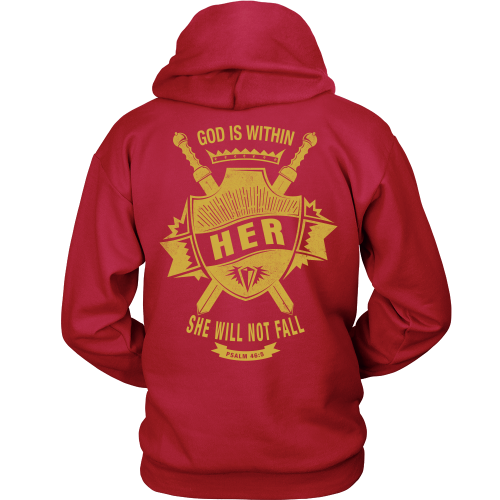 God is Within Her Hoodie - Dressed Up Tee Shop  - 6