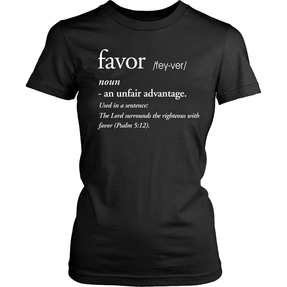 Favor Definition Tee - Dressed Up Tee Shop  - 1