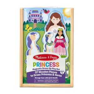 Princess magnetic dress up