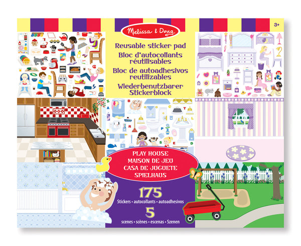 Sticker Pad - Play House