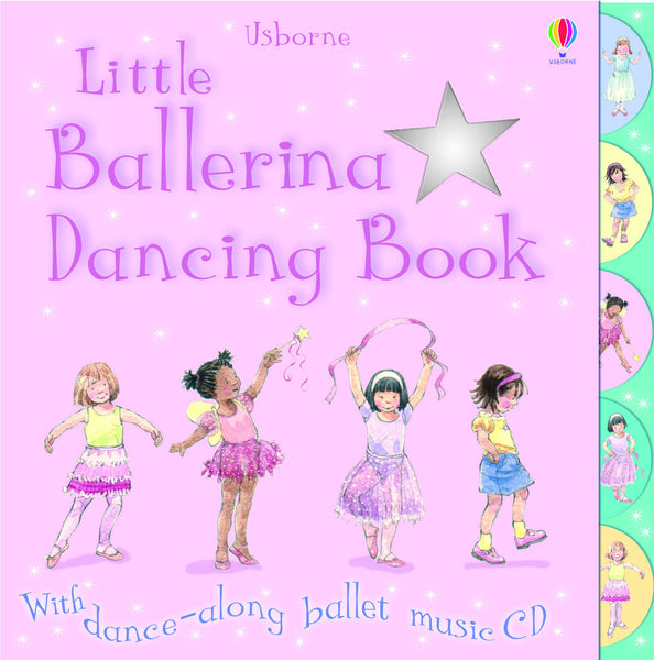 Little Ballerina Dancing - CD Book