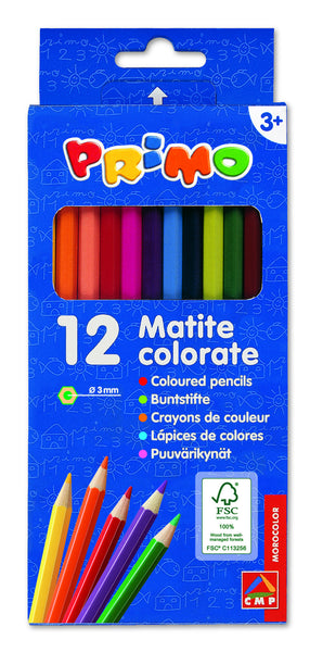 Colouring Pencils - 12 box