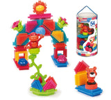 Stickle Bricks - Jungle Adventure Tube (54pc)