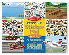 Sticker Pad - Vehicles
