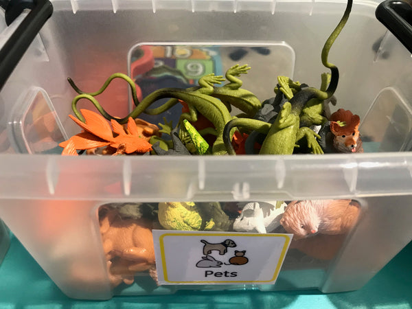 Pack of 5 Random Pet figures