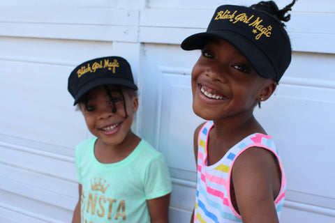 Black Girl Magic Visor - KIDS