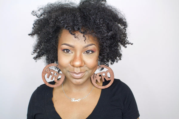 Large AFRO Rings