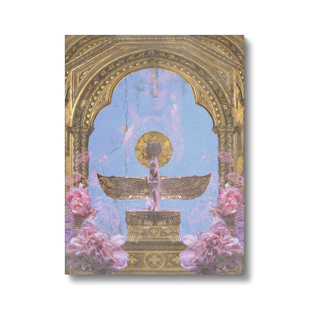 Goddess Isis Canvas - Starseed Designs Inc.