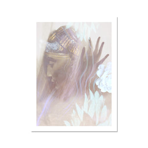 Queen Nefertiti Fine Art Print - Starseed Designs Inc.