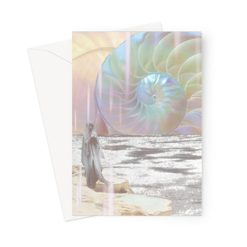Divine Spiral Greeting Card - Starseed Designs Inc.