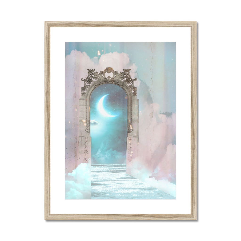 Luna  Framed & Mounted Print - Starseed Designs Inc.