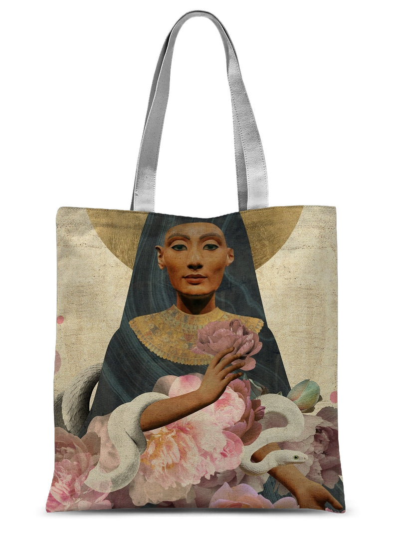 Nefertiti Sublimation Tote Bag - Starseed Designs Inc.