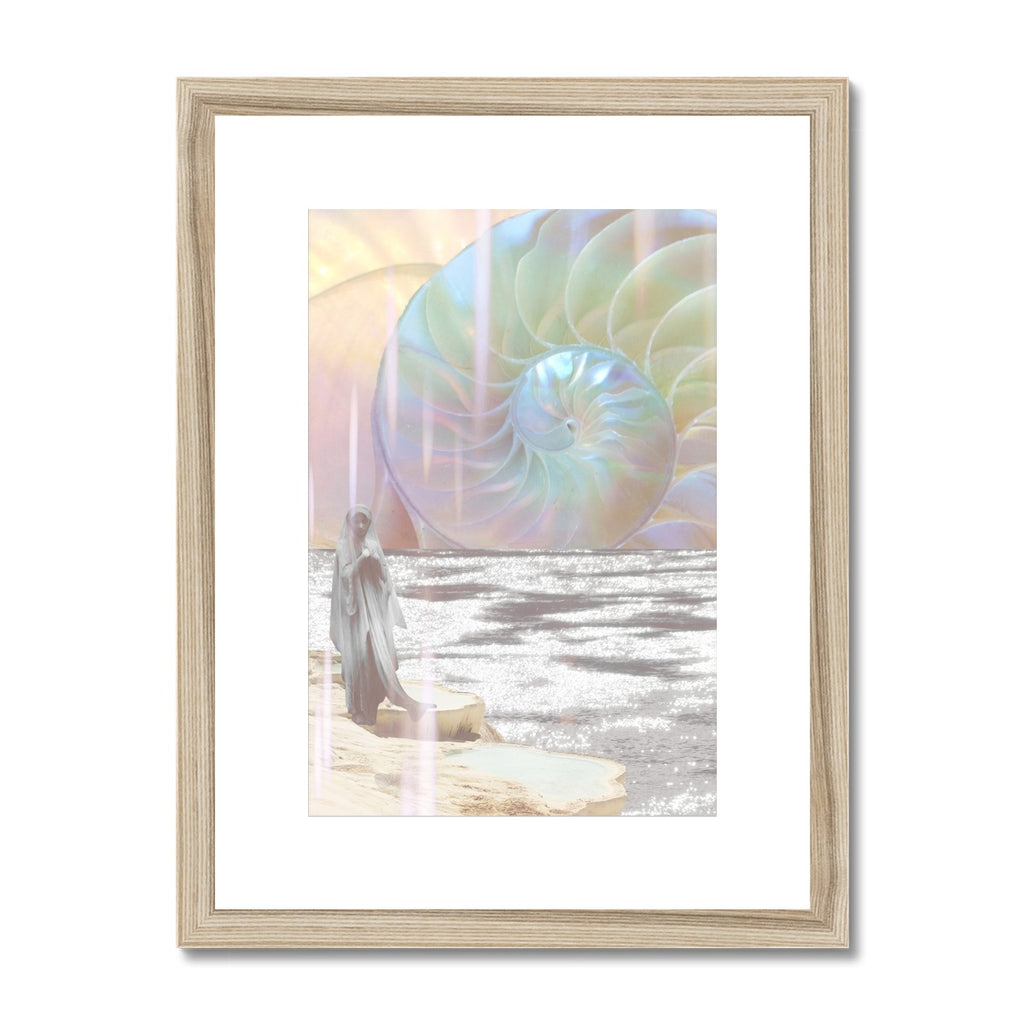 Divine Spiral Framed & Mounted Print - Starseed Designs Inc.