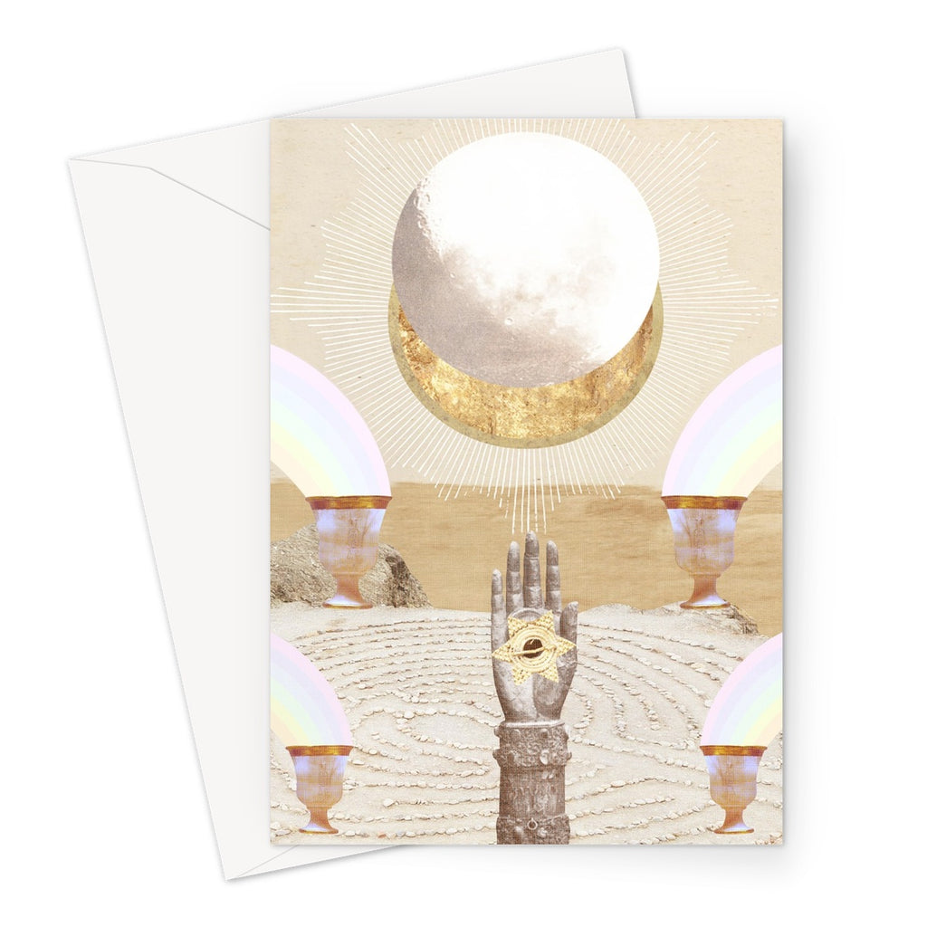 La Luna Greeting Card - Starseed Designs Inc.