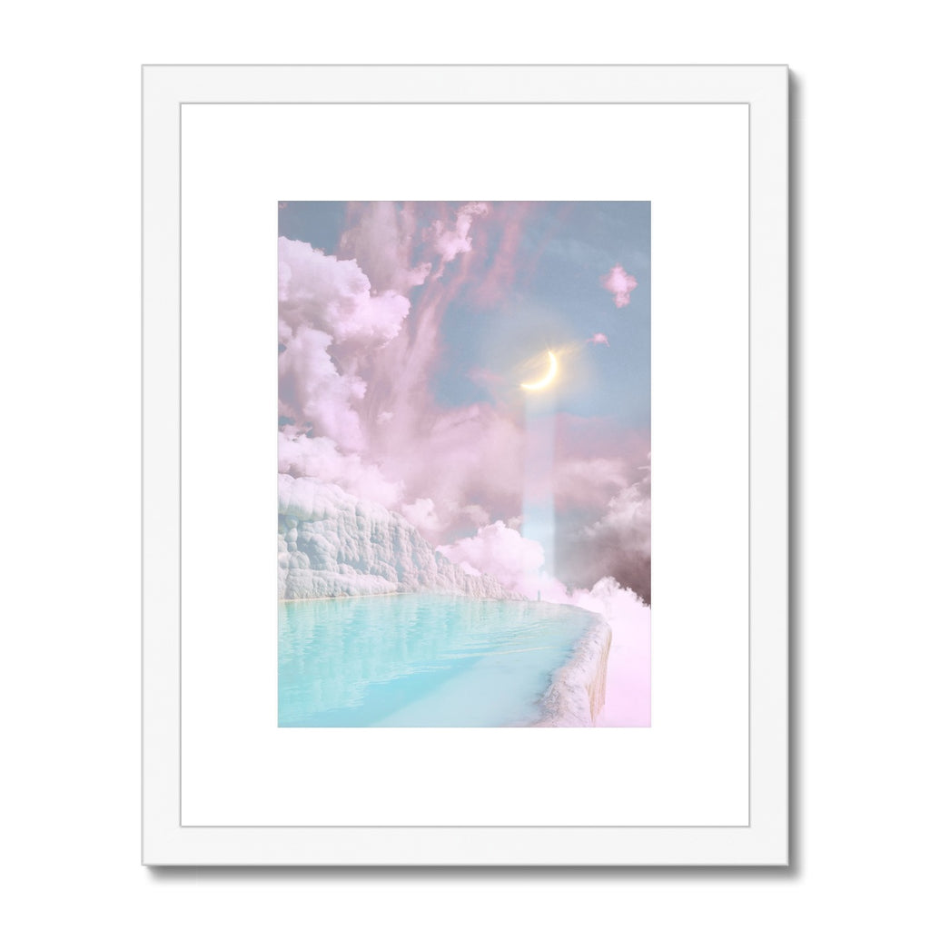 Moonbeam Framed & Mounted Print - Starseed Designs Inc.
