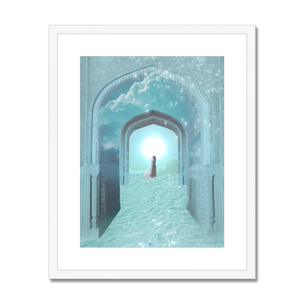 Dreamgate Framed & Mounted Print - Starseed Designs Inc.