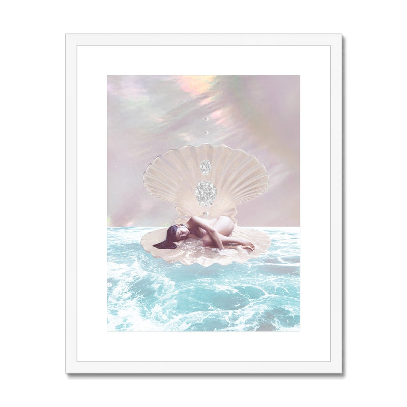 Venus Dreams Framed & Mounted Print - Starseed Designs Inc.
