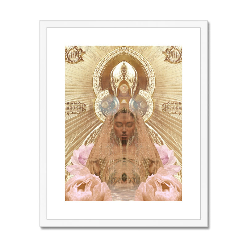 Mother Heart Framed & Mounted Print - Starseed Designs Inc.