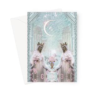 Sacred Grail Greeting Card - Starseed Designs Inc.