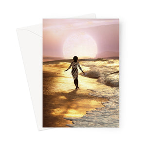 Nectar of Light Greeting Card - Starseed Designs Inc.
