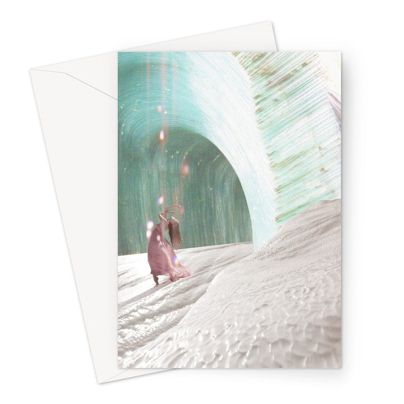 Star Weaver Greeting Card - Starseed Designs Inc.