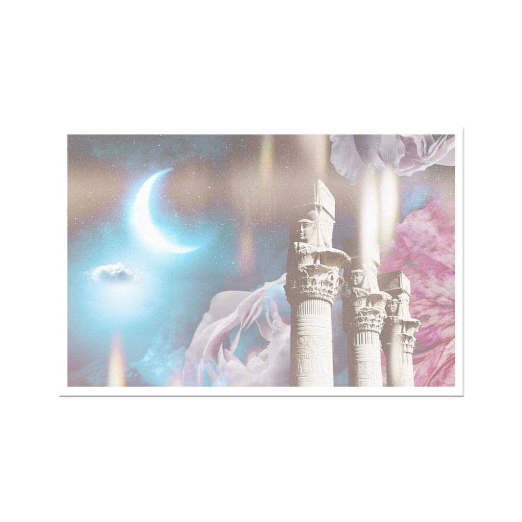 Ancient Temple of Light Fine Art Print - Starseed Designs Inc.