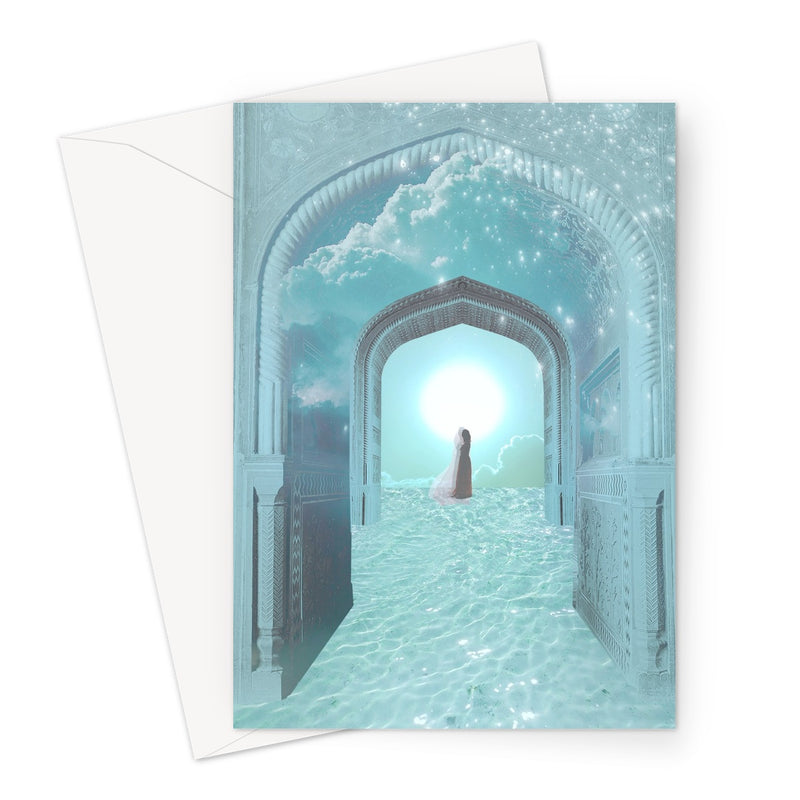 Dreamgate Greeting Card - Starseed Designs Inc.