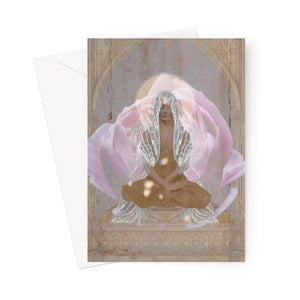 Luminous Wings Greeting Card - Starseed Designs Inc.