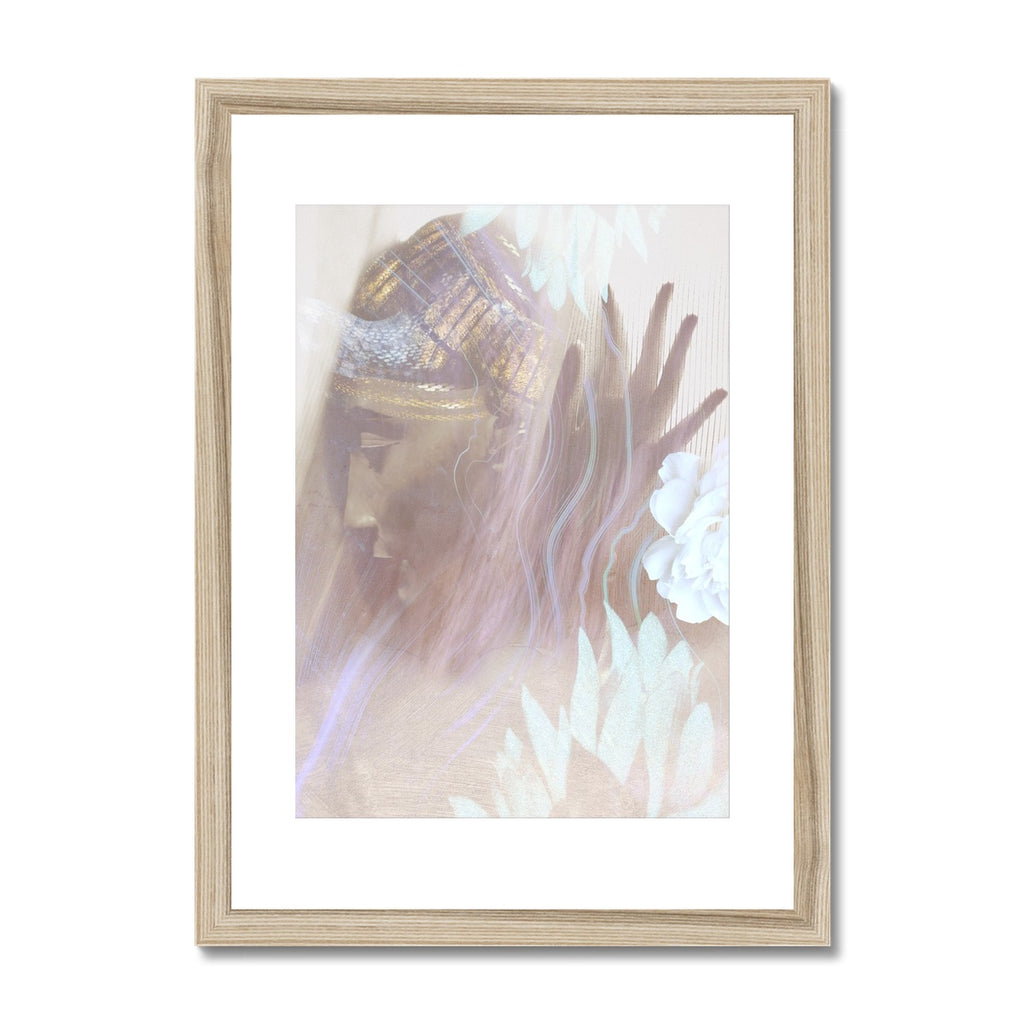 Queen Nefertiti Framed & Mounted Print - Starseed Designs Inc.