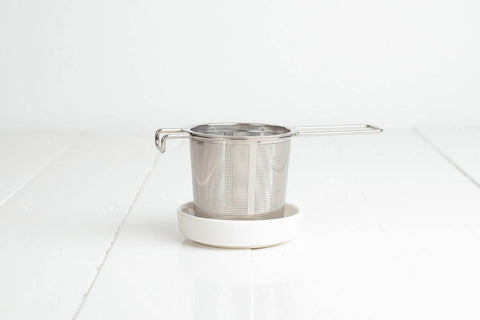 Tea Infuser & Dish Set