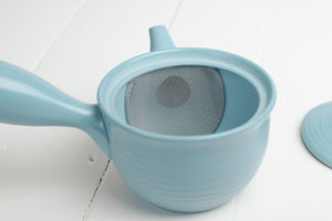 Kyusu Sky Blue 270ml - Tokoname