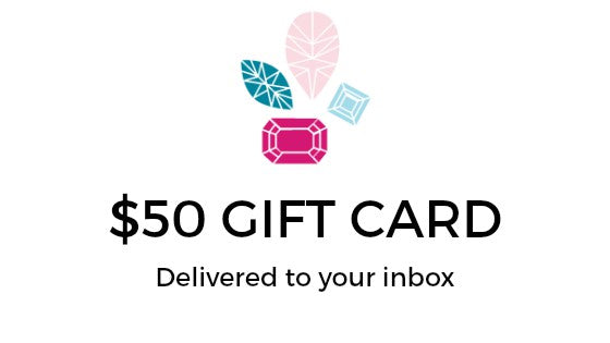 Handmade jewelry gift card, last minute women's gift ideas, custom jewelry by J'Adorn Designs